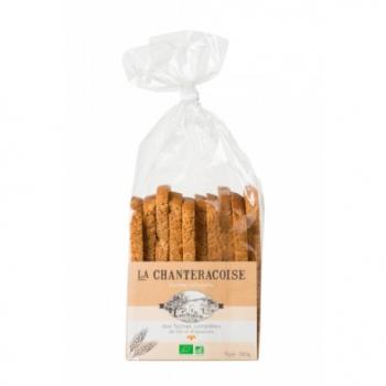 Biscottes Farines Complète - 280g - La Chanteracoise