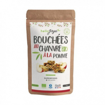 Bouchées Chanvre Pomme - 50g - Hello Joya