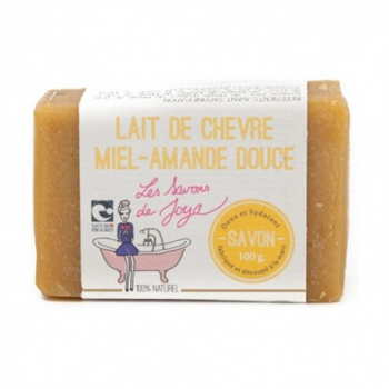 Savon Lait De Chèvre Miel Amande Douce - 100g - Les Savons de Joya