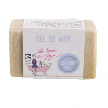 Savon Sel de Mer - 100g - Les Savons de Joya