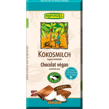 Chocolat Lait de Coco Végan - 80g - Rapunzel