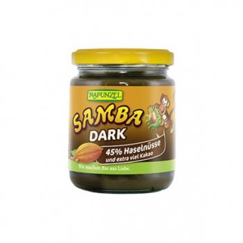 Samba Dark Pâte à Tartiner Noisettes Cacao - 250g - Rapunzel