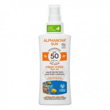 Spray Solaire Format Voyage spf 50+  - 90g - Alphanova
