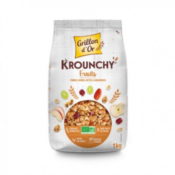 Krounchy aux Fruits - 1kg - Grillon d'Or