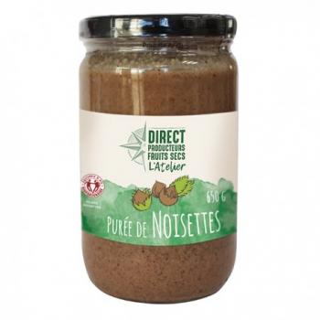 Purée Noisettes - 650g - Direct Producteurs Fruits Secs