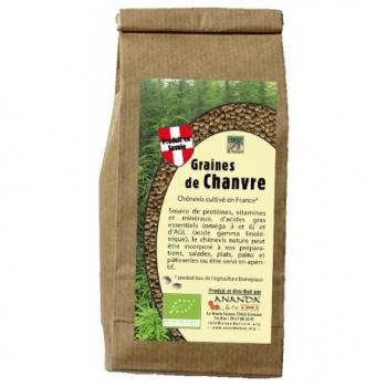 Graines de Chanvre Nature - 400g - Ananda & Cie