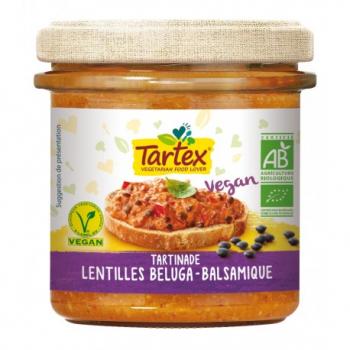 Tartinade Lentilles Beluga & Balsamique - 140g - Tartex
