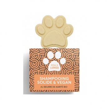 Shampoing Solide pour Animaux Pepet's - Poils Longs - Naiomy