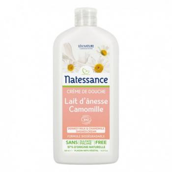 Crème de Douche Lait D'Anesse et Camomille - 500ml - Natessance