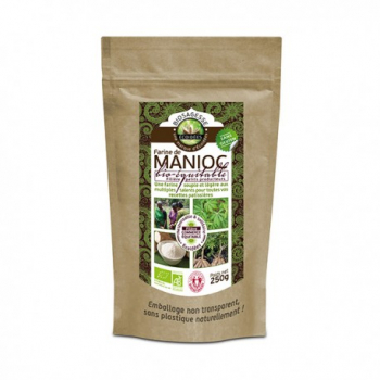 Farine de Manioc Bio Equitable - 250g -Écoidées
