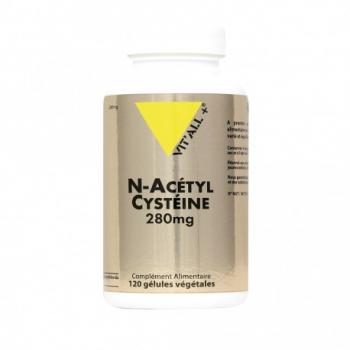 N-Acetyl Cysteine 280mg - 120 Gélules - Vit'All+