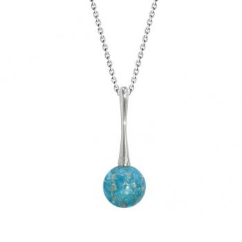 Colliers en Argent 925 Turquoise