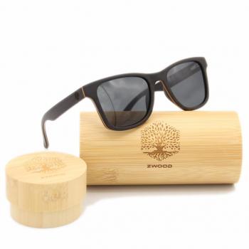 Lunettes de soleil polarisées en bois, Montures de lunettes en bois fait main unisexe