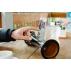 MANGOBEAT, ENCEINTE sans BLUETOOTH pour Iphone - Amplificateur naturel écologique, station d'accueil et support de téléphone en bois, idée cadeau