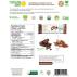 NATURE ZEN Barres Protéinées végétales saveur chocolat, 12x60g