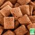 JUSTEBIO - Carrés Fourrés Cacao Noisettes - Lot de 4 sachets de 625g