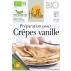 HEOLBIO préparation bio pour crêpes vanille sans gluten