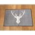 Paillasson / tapis antidérapant et lavable dessin d'un CERF