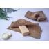 Lingette durable en fibre d'ortie pour le corps et visage