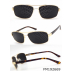 Lunettes à grilles ou  lunettes à trous monture   en métal acier doré + livret de 32 pages méthode   offert en PDF