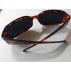 Lunettes à grilles ( lunettes à trous)  ovales marrons + livret de 32 pages méthode  offert en PDF + étui rigide