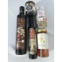 Saveurs Délicates pour les fins gourmets : Ail noir, Huile d'olive, miel crétois, sirop de caroube, infusion de dictame