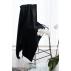 LUIN LIVING - Grande serviette 100×180 cm BLACK