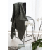 LUIN LIVING - Grande serviette 100×180 cm GRANITE