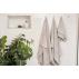 LUIN LIVING - Drap de bain 100×150 cm PEARL GREY