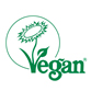 LOGO LABEL V VEGAN