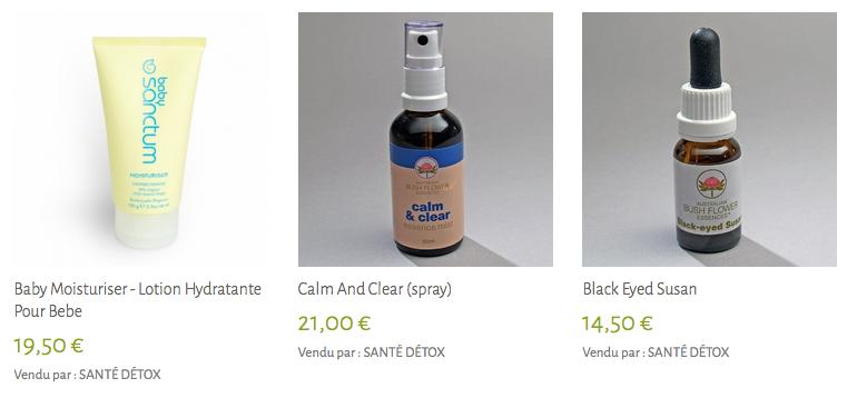Produits sante detox