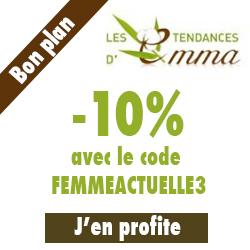 Promotion Les tendances d'Emma