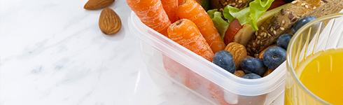 Emportez vos repas - contenants, lunchbox